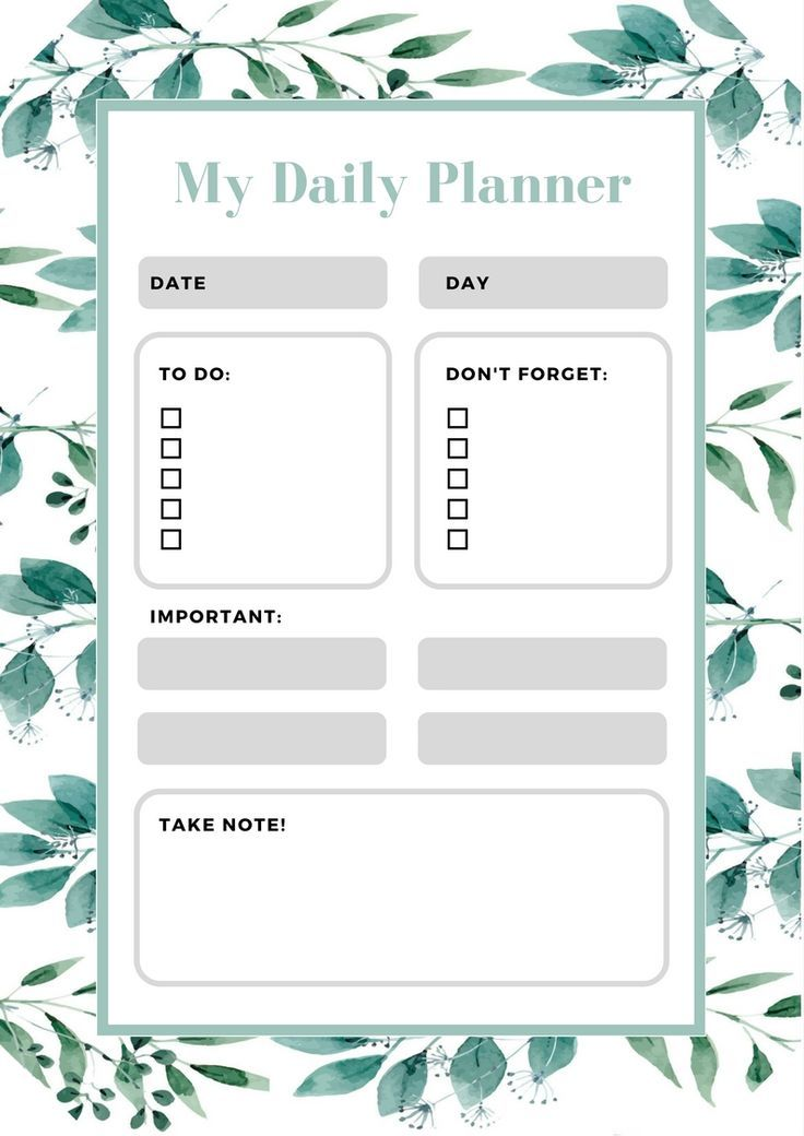 Free 2018 Monthly Calendar Printable Clipart and Printables for