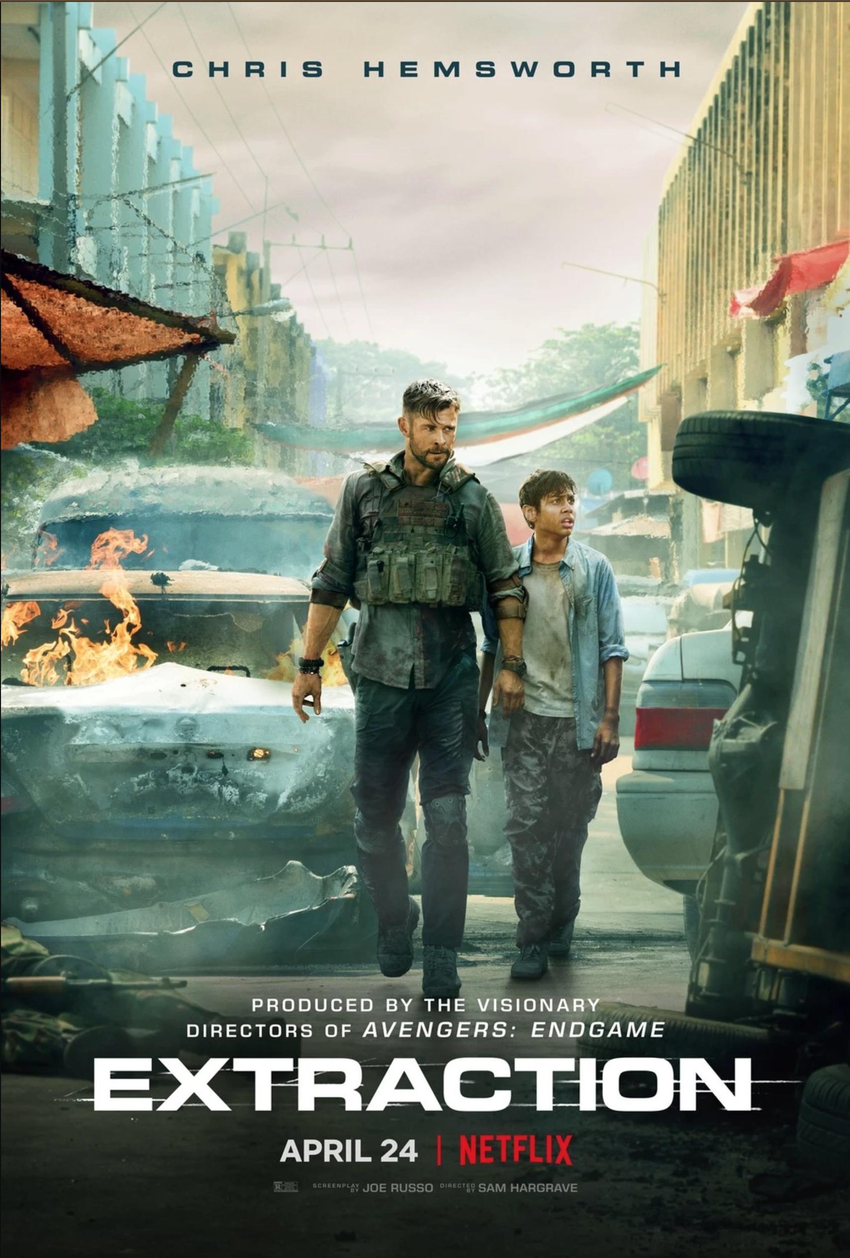 Tyler Rake Extraction Sam Hargrave 2020 Films Complets Film Netflix A Voir Meilleur Film Action