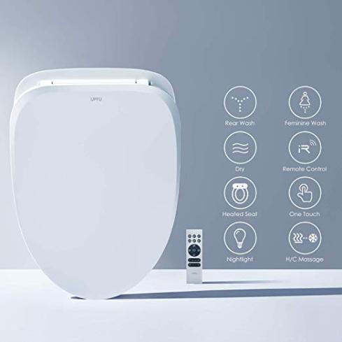 Smart Toilet Seat Uffu Advanced Bidet Toilet Seat Wireless