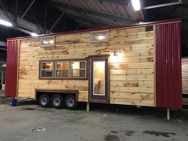 32' modern rustic tiny house