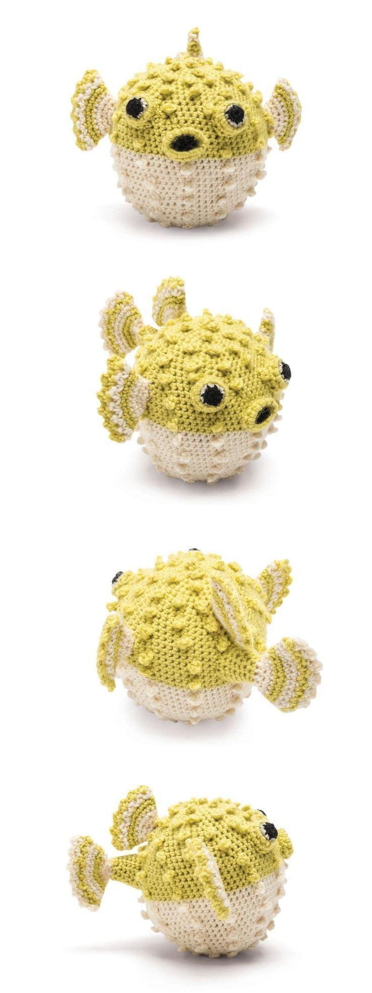 Puffer fish. Free crochet pattern amigurumi... | Tejedora ...