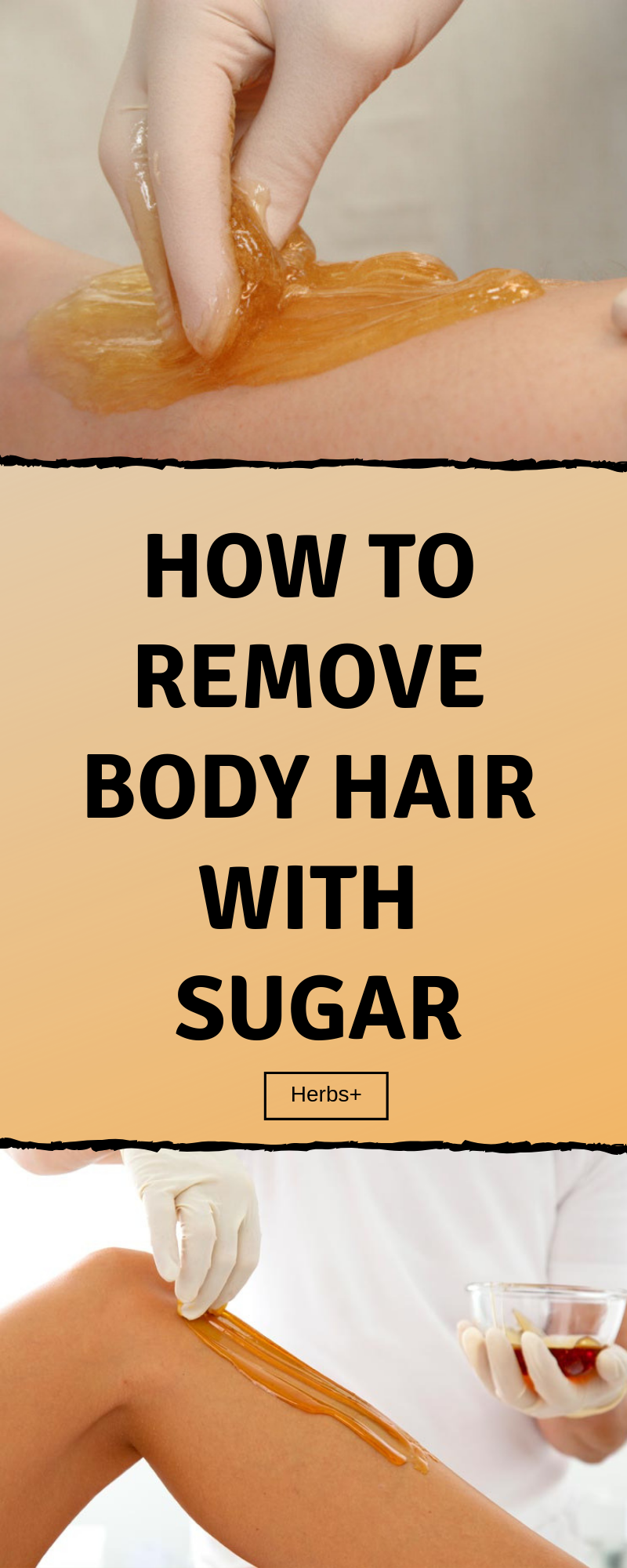 How To Remove Body Hair With Sugar #hairremoval