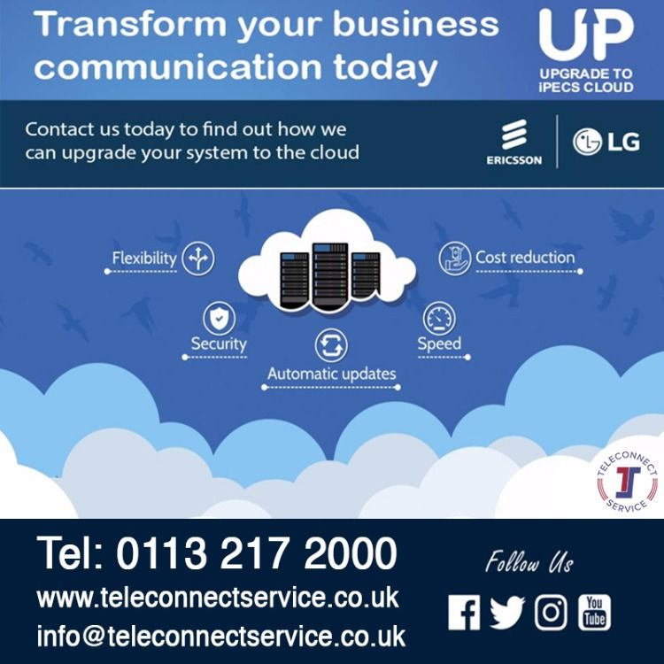 Cloud Solutions In Leeds Teleconnect Service Ltd Network