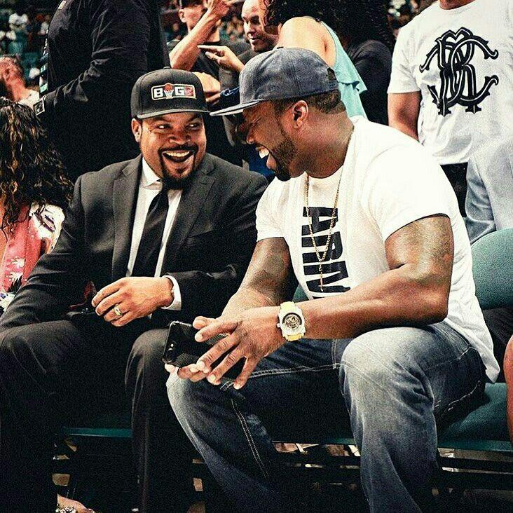 Ice Cube and 50 Cent   Eminem, Hip hop, Rap