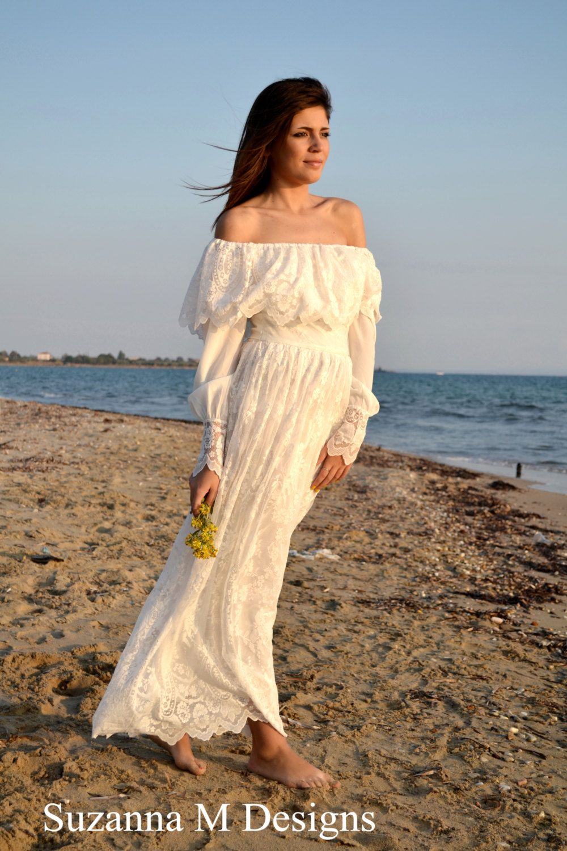 S wedding dress suzannam long bridal gown ivory wedding dress