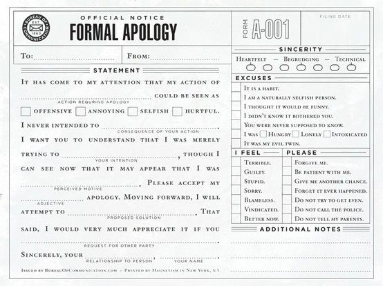 "Example Letter Of Apology Simple Formal Apology  ""i'm Sorry"" ~ Asking For Forgiveness & Conflict ."