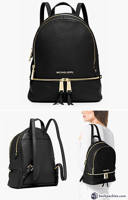 6 Small Black Leather Backpacks We Love - 2017 Must Haves ...