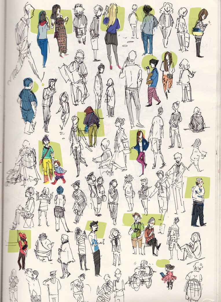 People Gestures by shark-bomb