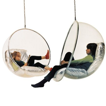 Poltrona Sospesa Bubble Chair.Poltrona Sospesa Bubble Chair Design Anni 60 Poltrona