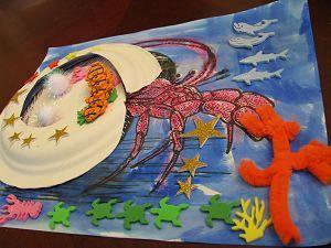 A House For Hermit Crab Craft Hermit Crab Crafts Crab Crafts