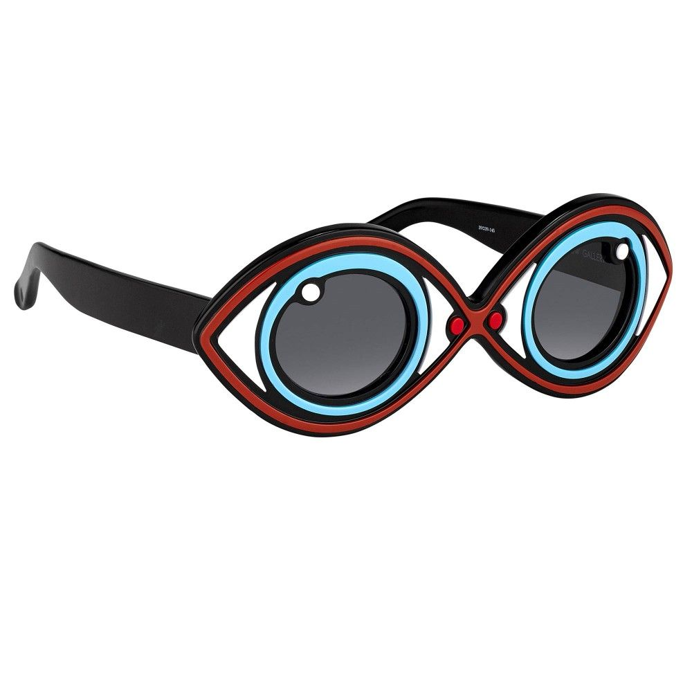 eeba3551cad Yazbukey 2 Blue - Sunglasses - SHOP BY CATEGORY - Men - Linda Farrow ...