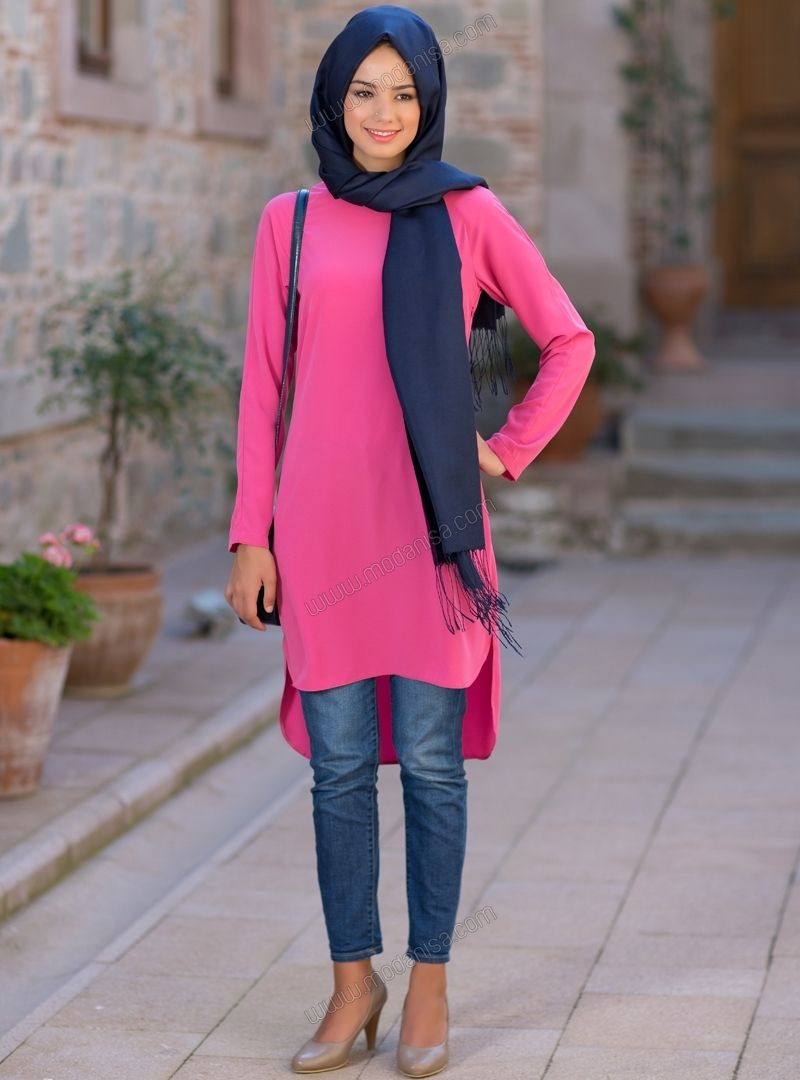 Uzun Tunik 5006 - Çilek - Kuaybe Gider | Tunik Dress | Pinterest ...