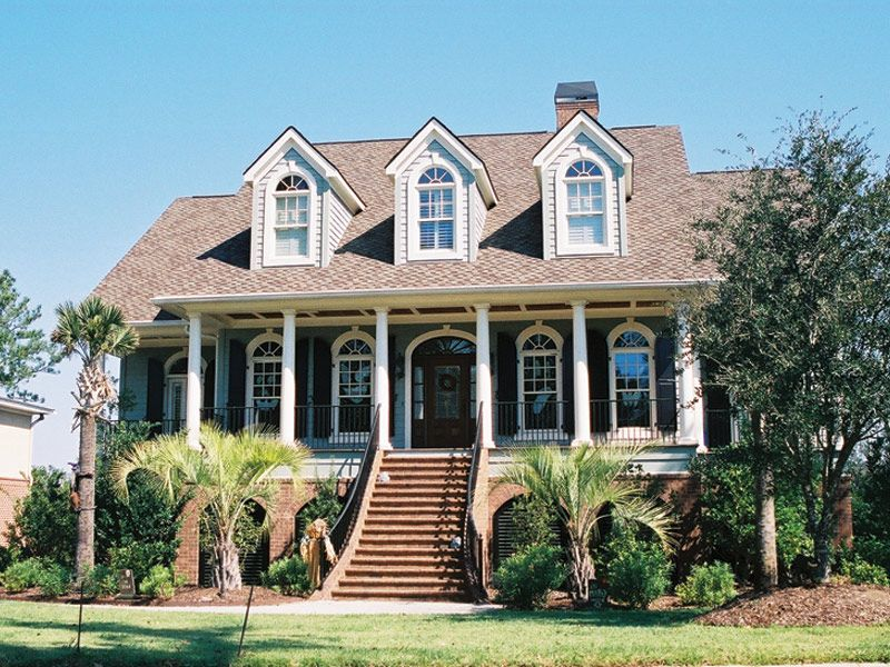 Rivergate Lowcountry Home Southern House Plans Country House Plans Low Country Homes