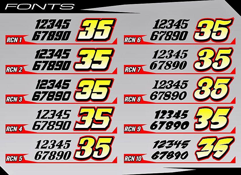 Race Car Number Fonts | Free Fonts | Pinterest | Fonts ...
