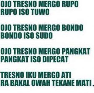 Kata Kata Sedih Bahasa Jawa Stiker Lucu Pinterest Quotes