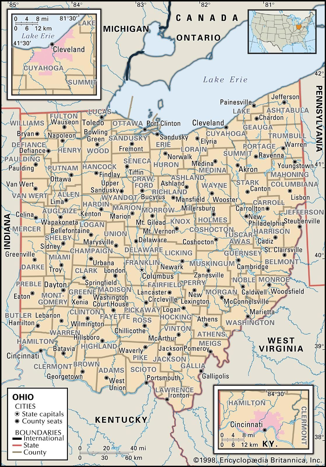 Map Of Ohio Counties Stewart Family Tree Map Ohio Map Genealogy