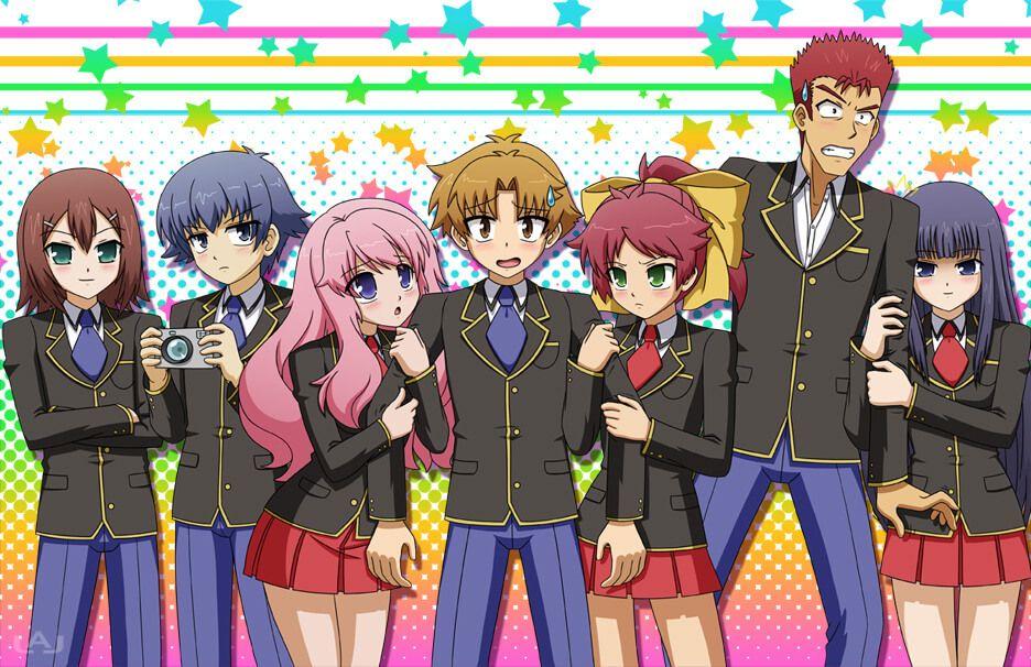 Baka to test to shoukanjuu 510 dibujos de anime