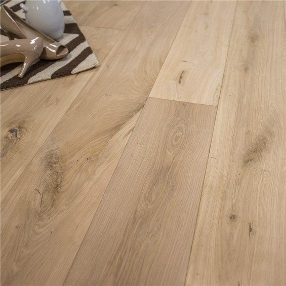Unfinished Beveled Edge European French Oak Engineered Wood Floors