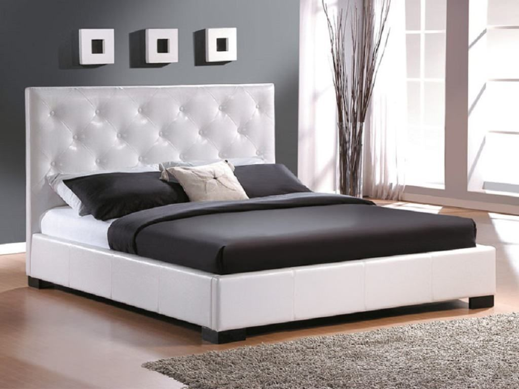 King size bed frame modern bedroom decoration ideas for Contemporary bed designs