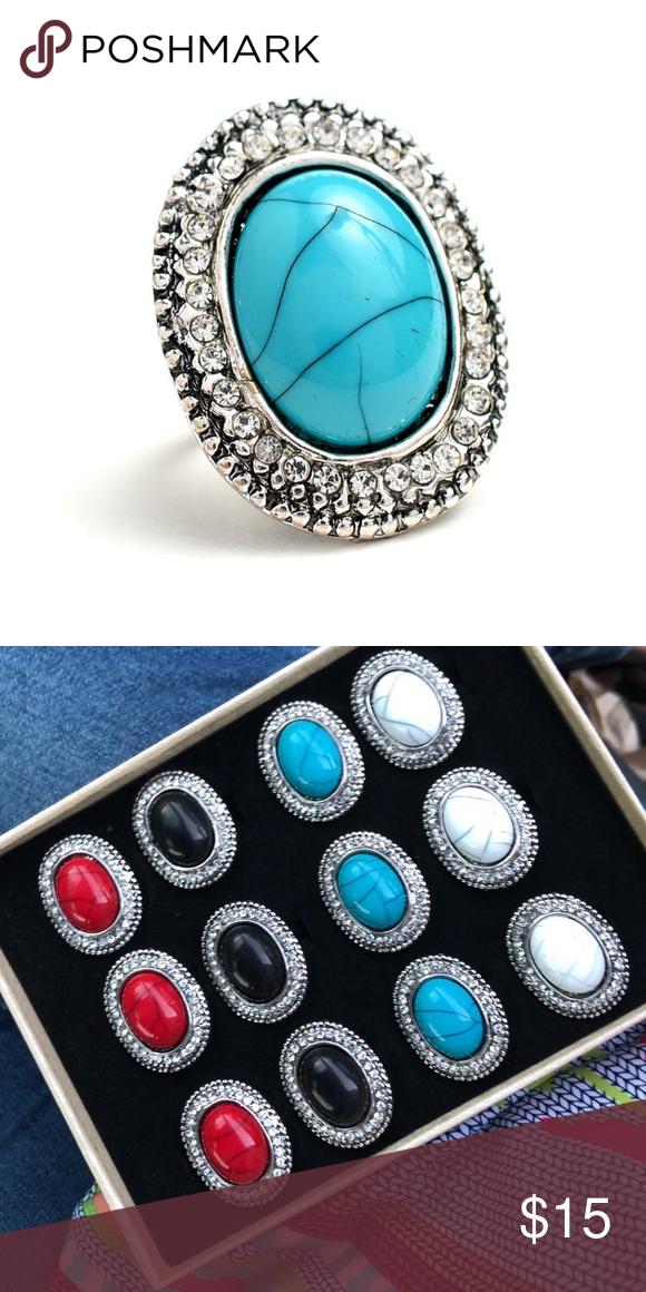 ️ Turquoise Ring ️ Turquoise fashion, Teal fashion