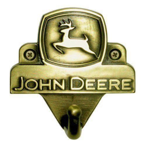 John Deere Cast Metal Hand Finished WALL HOOK Decorative ...