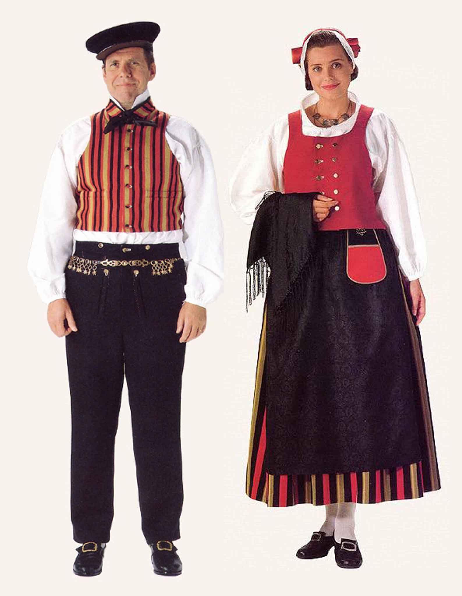 Costume - West Finnish And Karelian Costumes