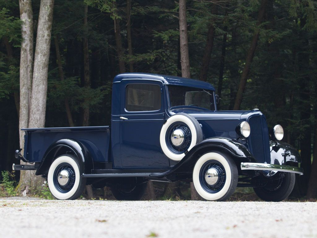 1934 Chevrolet Closed Cab Pickup | american cars 1932 - 1942 ...