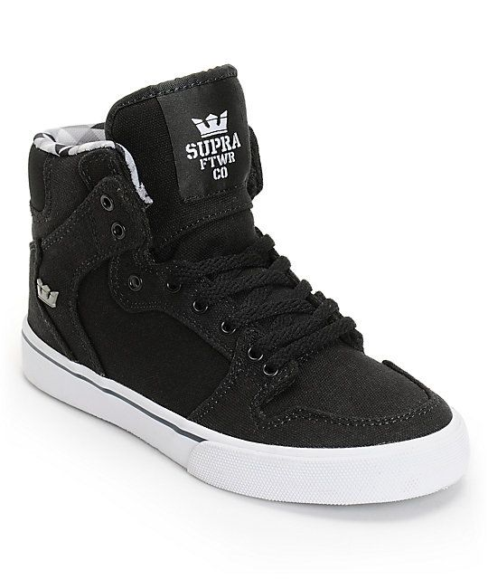 Supra Kids Vaider Black/White Boys