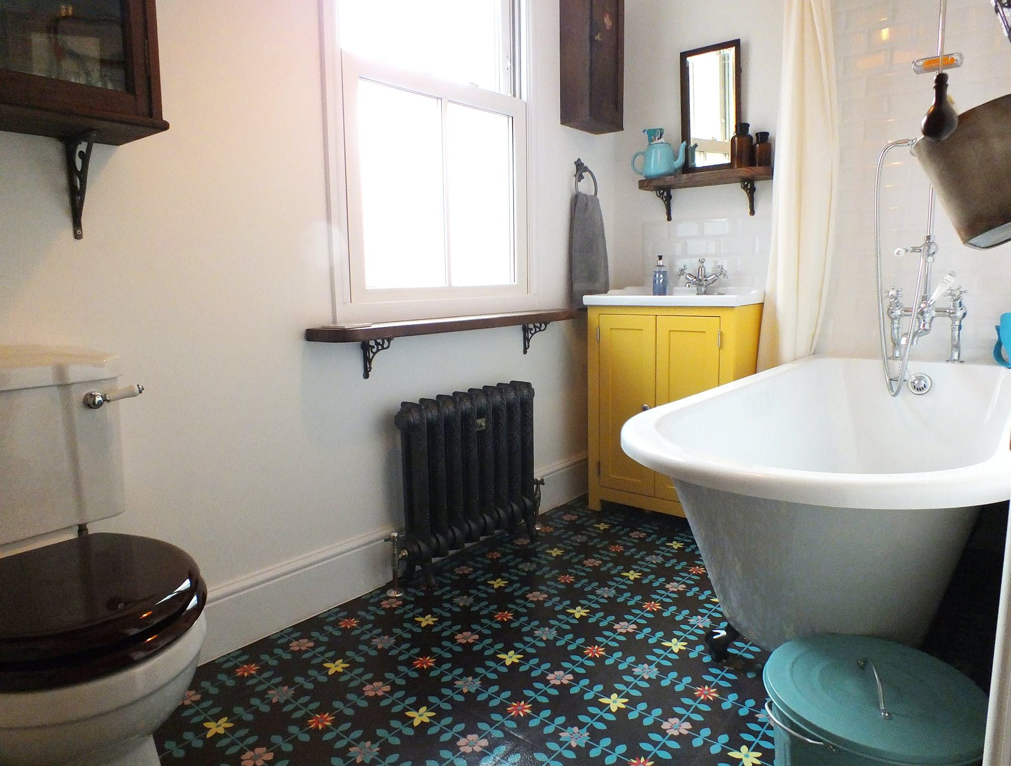 A British Bathroom Makeover An Old Victorian Gets a New