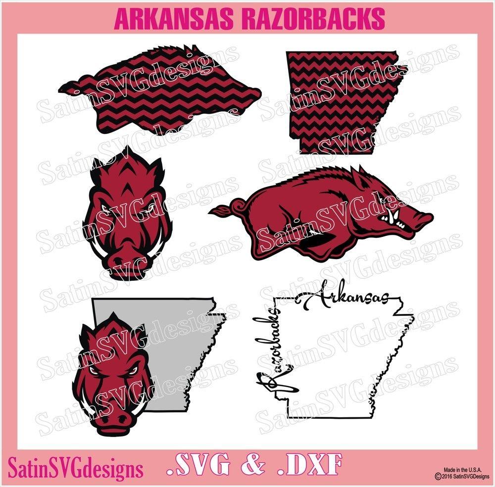 arkansas razorbacks design svg files cricut silhouette studio digital cut files [ 1000 x 985 Pixel ]