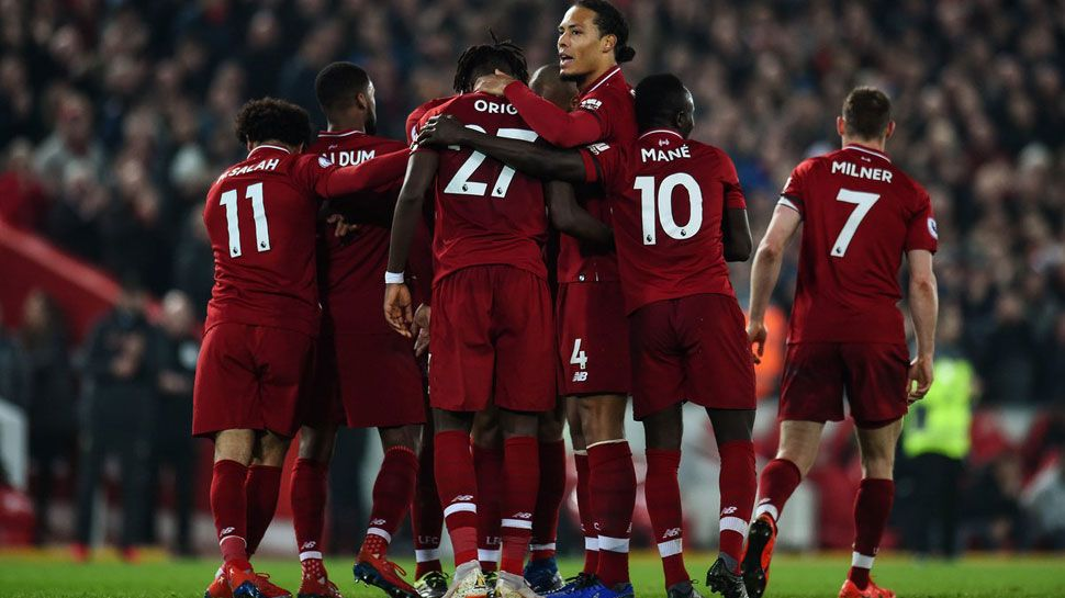 Liverpool defeat Watford 50 to maintain position on top