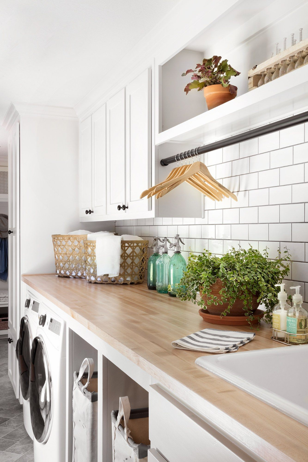 Photo of Joanna Gaines Swears By These Laundry Room Essentials