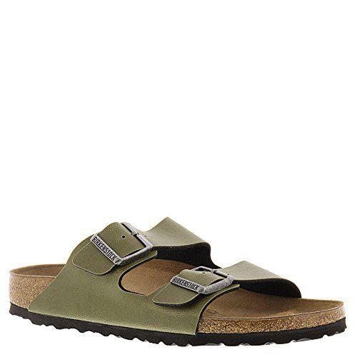 Unisex Arizona Olive Birko-Flor Pull Up Sandal DPKDEia
