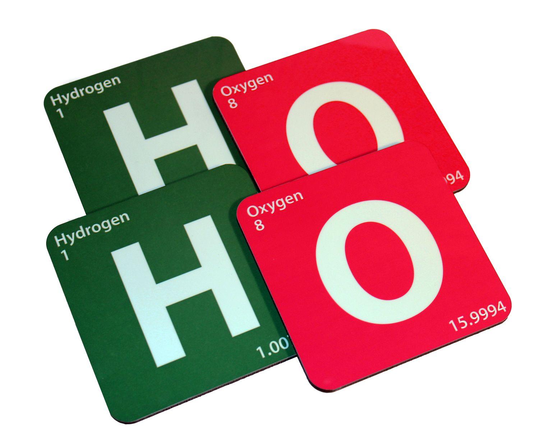 Hohoho periodic table coasters made in the usa christmas ho periodic table coasters made in the usa christmas gamestrikefo Images