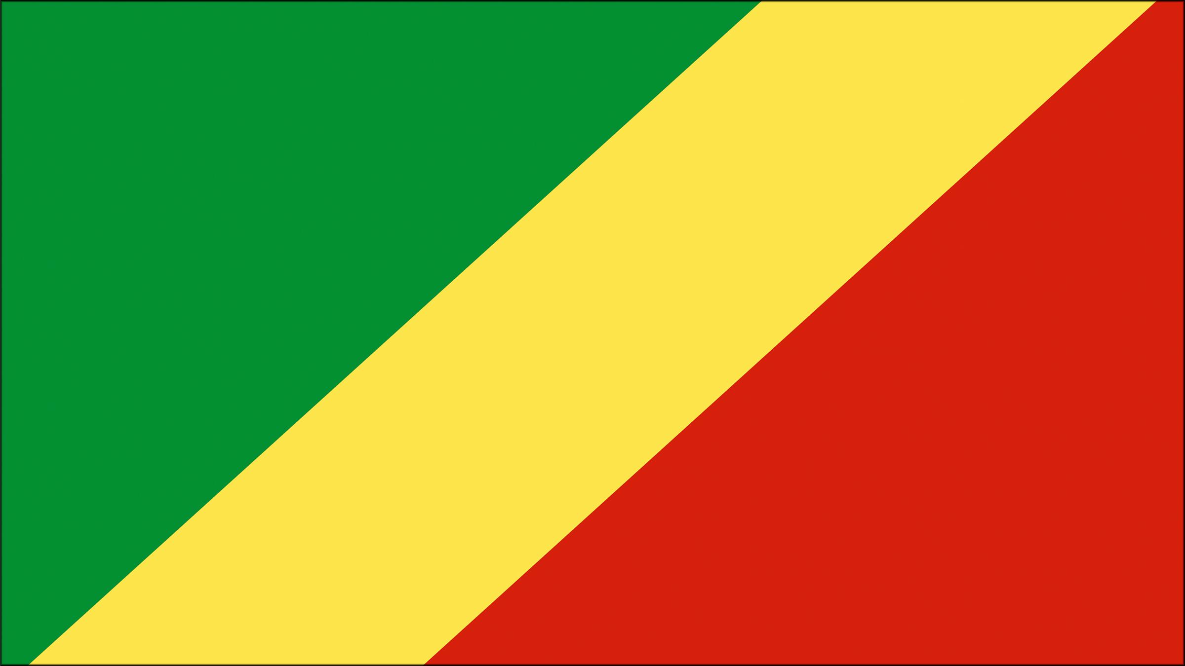 Bandera De La República Del Congo Republica Del Congo Banderas Del Mundo Bandera