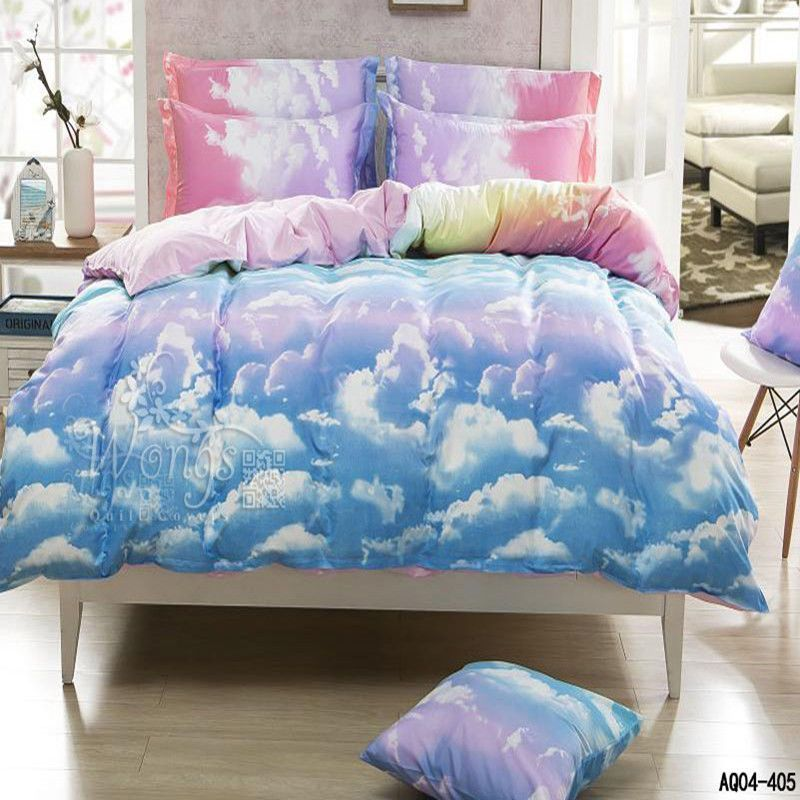 New Clouds Quilt/Duvet/Doona Cover Set Pillowcases Queen/King/Double Bed