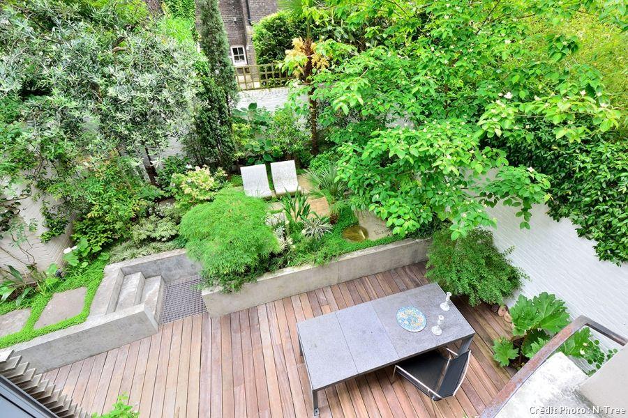 Un jardin japonais contemporain au cœur de Londres | Jardin zen ...