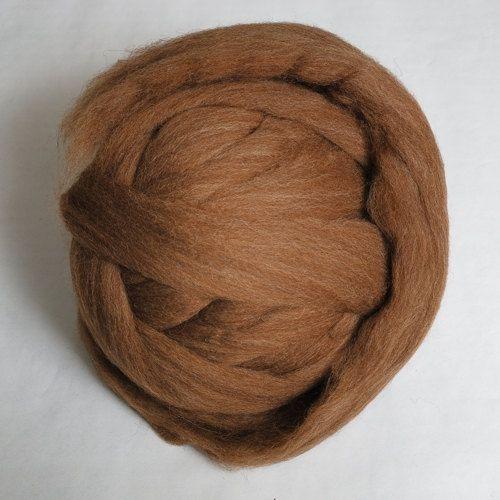 100g Moorit Professionally Combed Shetland Fleece Top