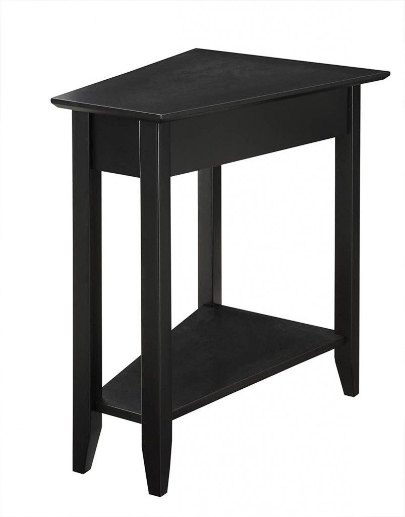 Triangular End Table How To Choose The Right End Table For Table - Black triangle end table