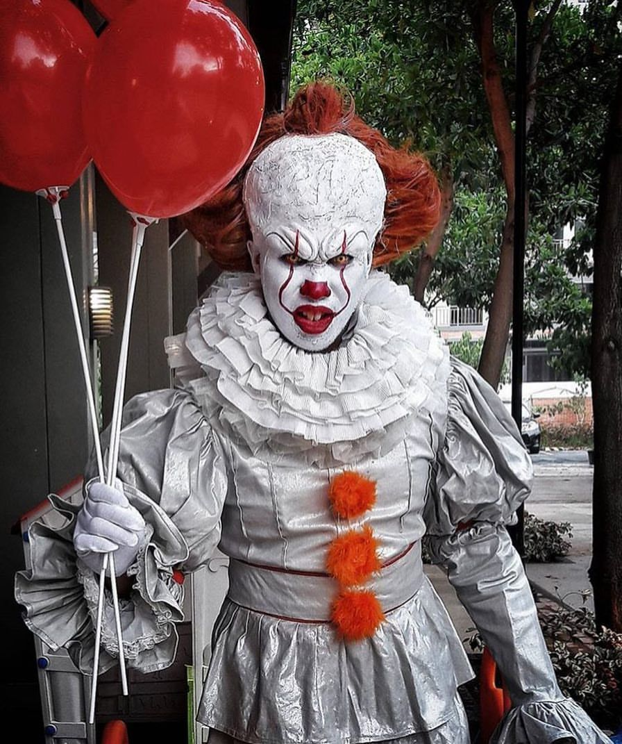 "The Horror Gallery on Instagram  ""Pennywise Cosplay by   princedeguzmantransformations "" • Instagram 92a86fd9647"