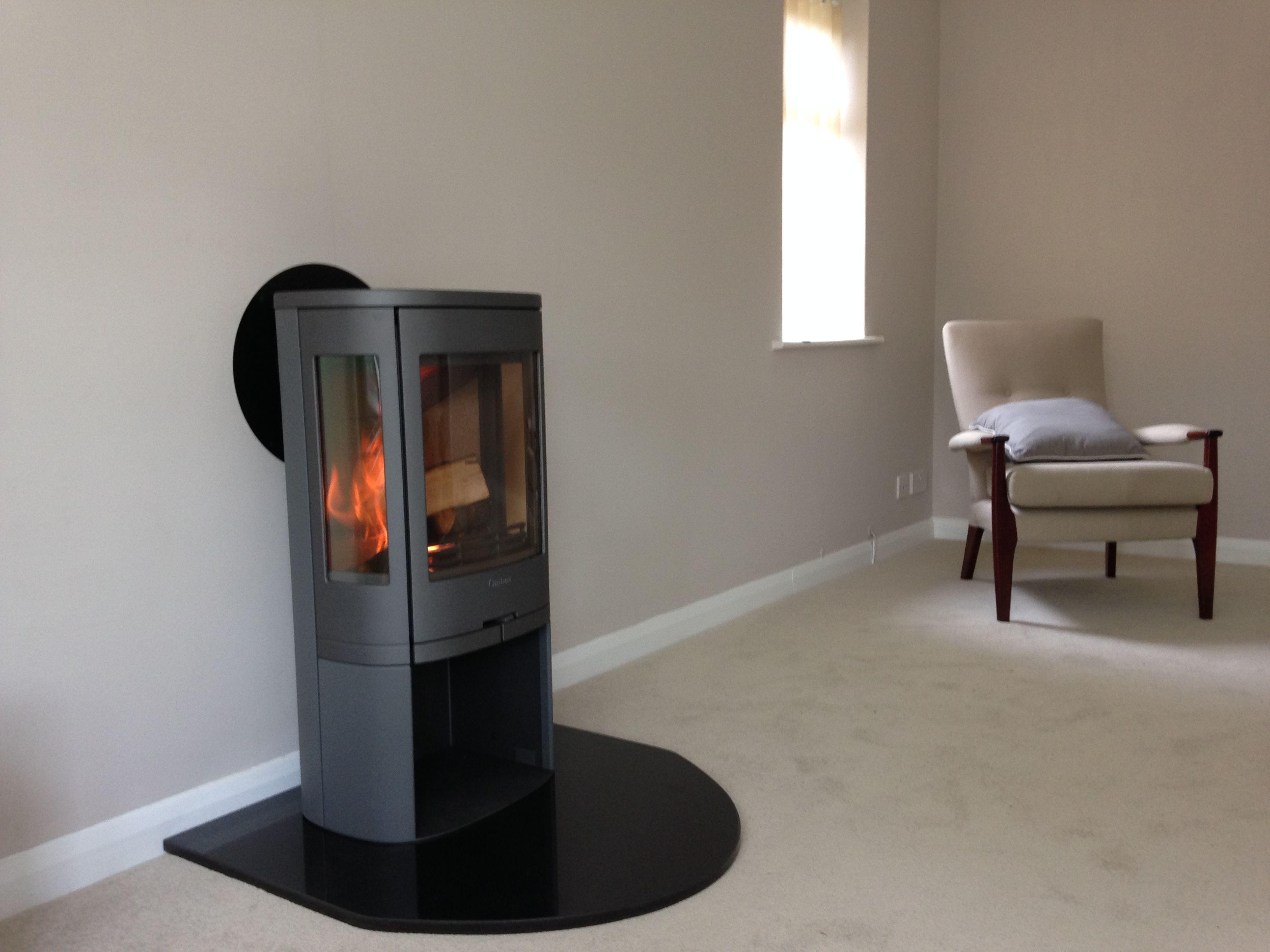 a contura stove on a black granite hearth installations. Black Bedroom Furniture Sets. Home Design Ideas