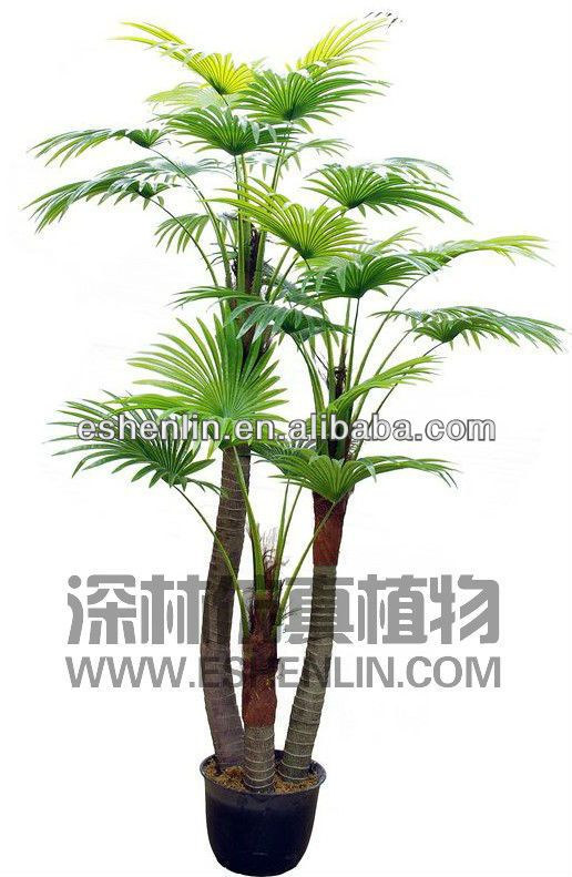 High imitation artificial mini palm tree the best quality for Mini fausse plante