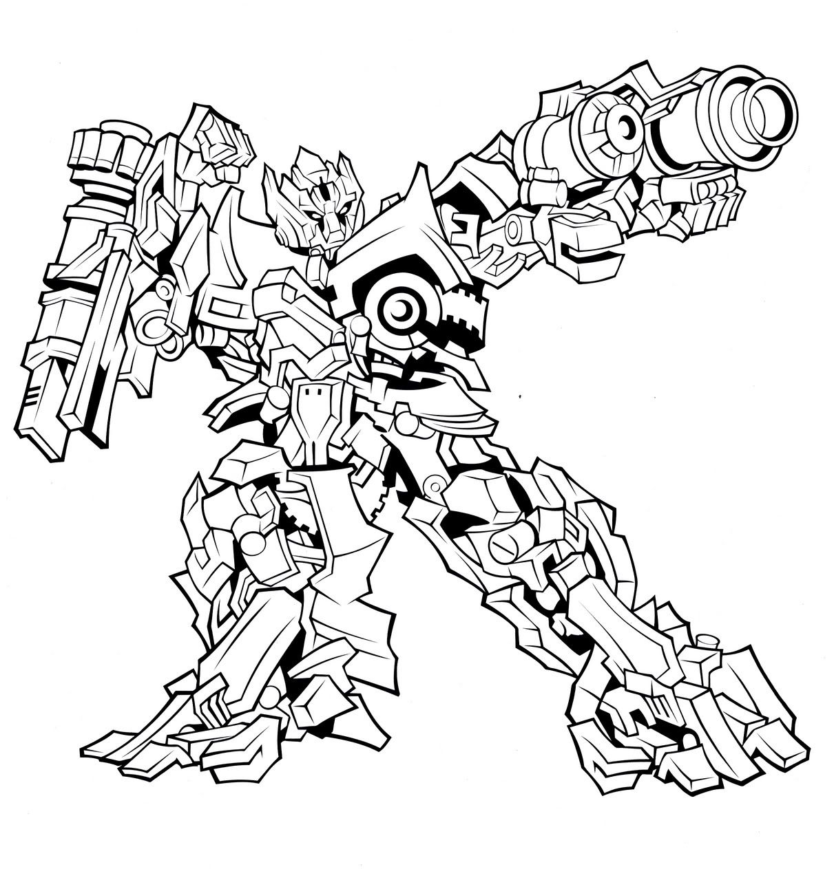 Decepticon Coloring Pages Collection
