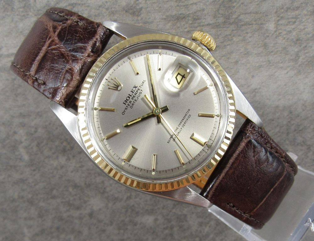 Vintage Rolex Oyster Perpetual Datejust Ref 1601 Made In 1969 Excellent Rolex Vintage Rolex Rolex Oyster Perpetual