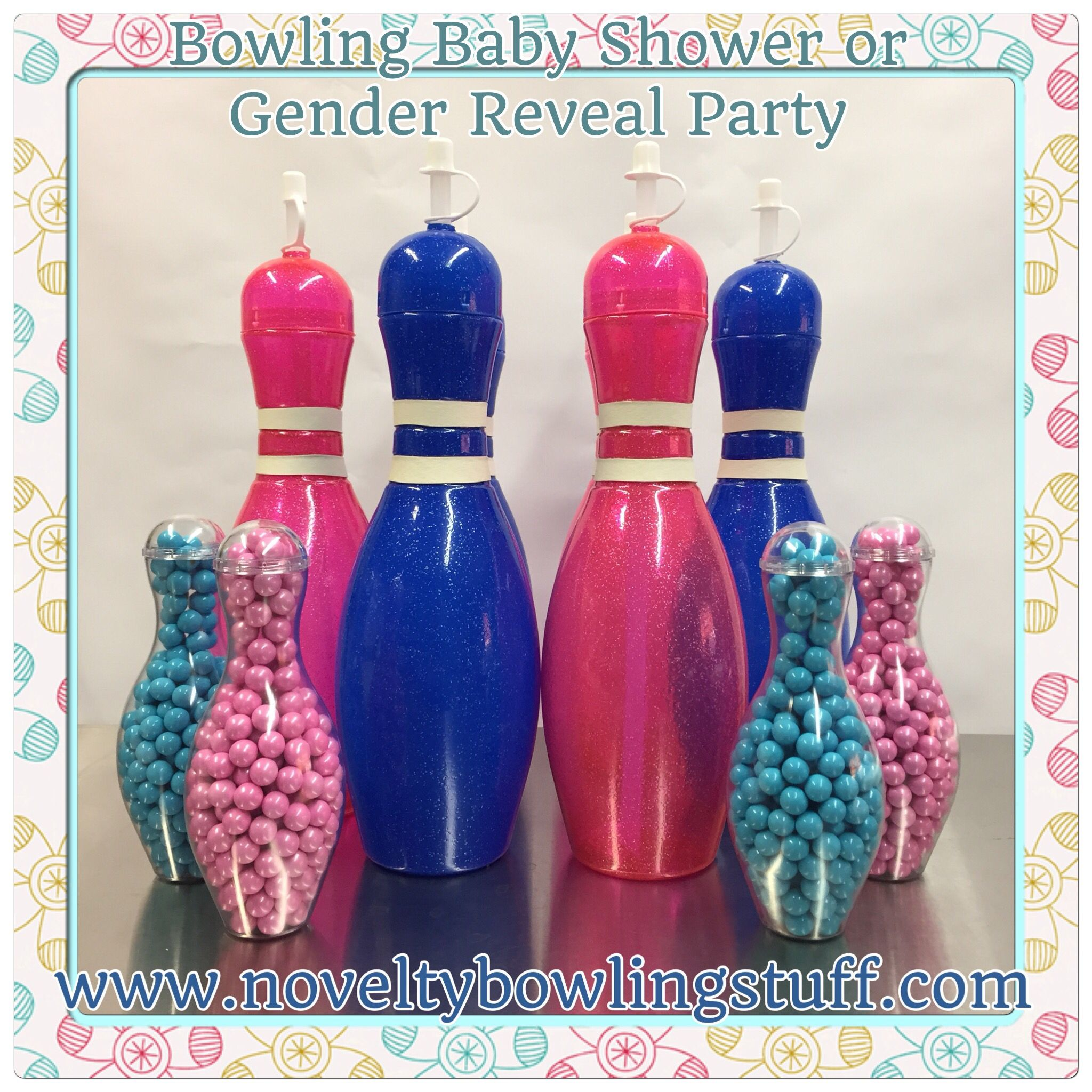Baby Shower Reveal Party: Perfect Party Favor For Your Bowling Themed Baby Shower Or