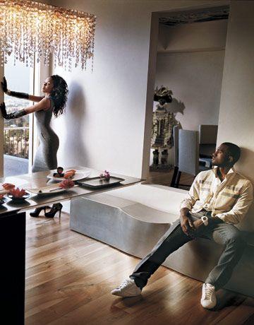 Lookbook Kanye West Alexis Phifer Kanye West Kanye Phifer
