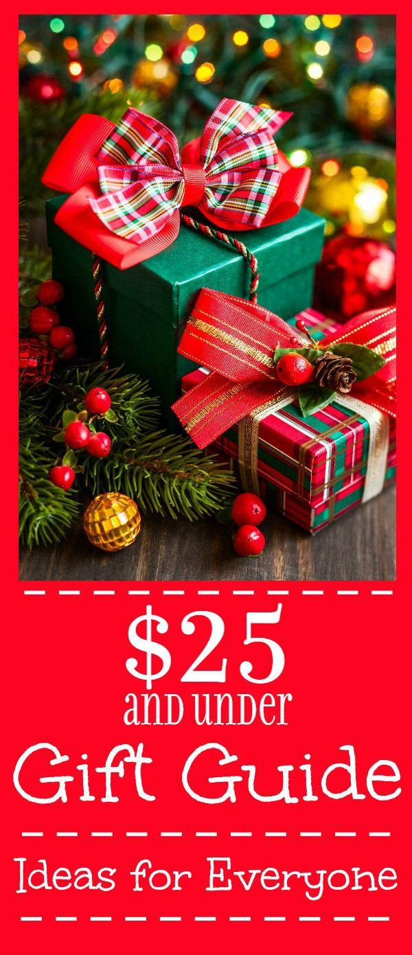 Buy your Christmas gifts on a budget with this $25 and Under Gift ...