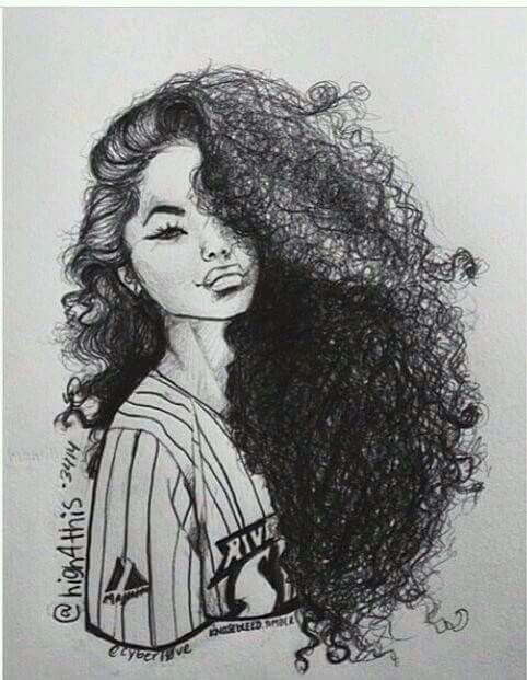 Pin by Carina Rankine on natural hair art | Black girl art ...