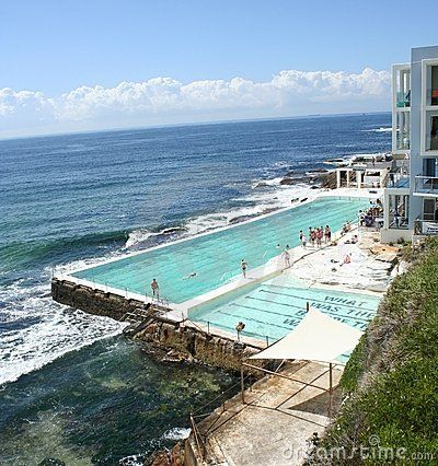 Sydney Bondi Icebergs Pool  by Debra Law, via Dreamstime  I have to see this one day!!