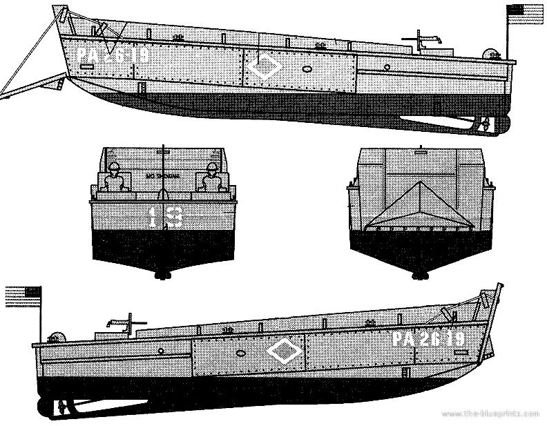 Higgins Boat Design